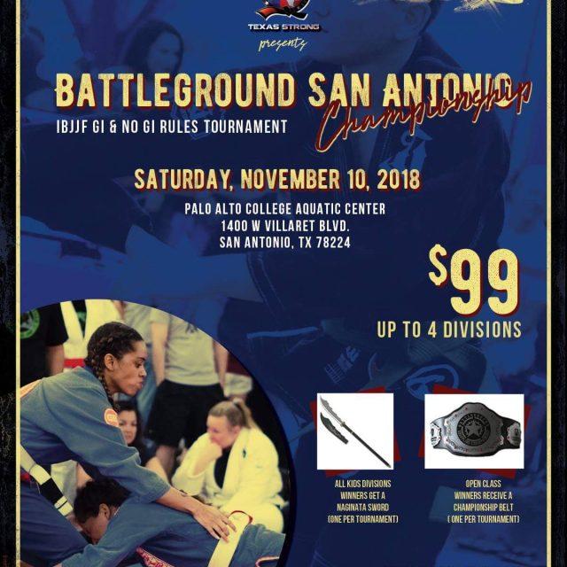 Battleground San Antonio November 10, 2018