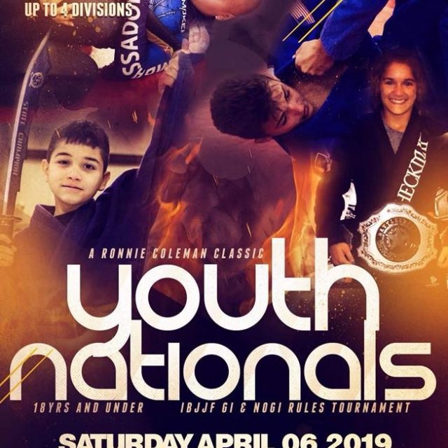 RONNIE COLEMAN 2019 YOUTH NATIONALS