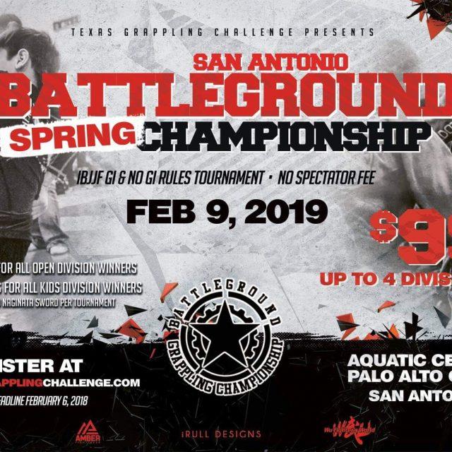 San Antonio Spring Championships Feb 9